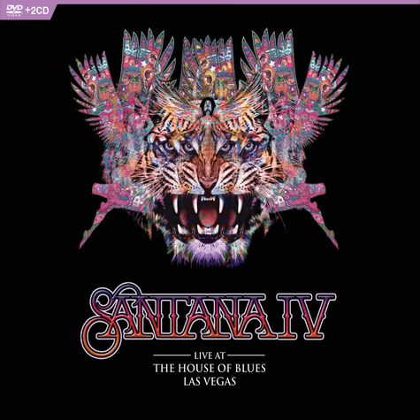 Santana: Live At The House Of Blues, Las Vegas (DVD + 2 CD)