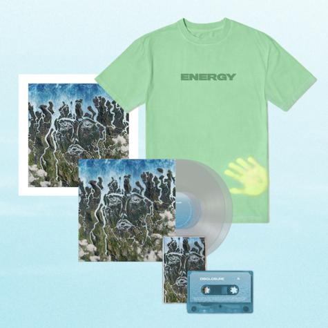 Disclosure: Exclusive Clear LP, Signed Art Card, Cassette + Heat Sensitive Tee
