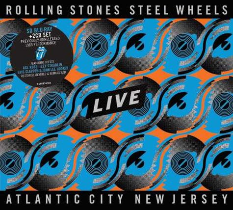 The Rolling Stones: Steel Wheels - Atlantic City, NJ (Blu-Ray / 2CD)