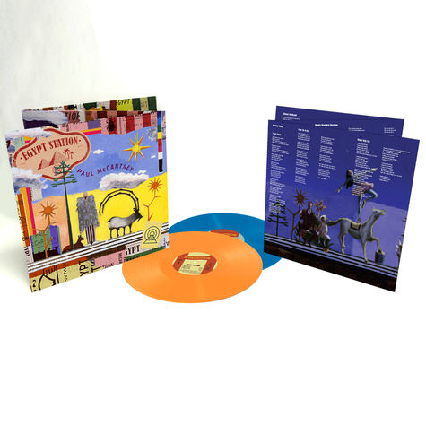 Paul McCartney: Egypt Station (Deluxe Colour 2LP)