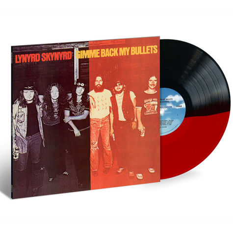 Lynyrd Skynyrd: Give Me Back My Bullets (Split Trans Red & Black) (LP)