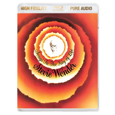 Stevie Wonder: SONGS IN THE KEY OF LIFE (BLU RAY AUDIO)