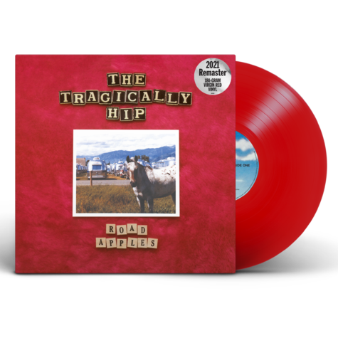 The Tragically Hip: The Road Apples 30th Anniversary Edition Remastered Red Vinyl