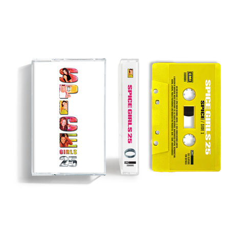 Spice Girls: Spice - 25th Anniversary ('Sporty' Yellow Coloured) Cassette