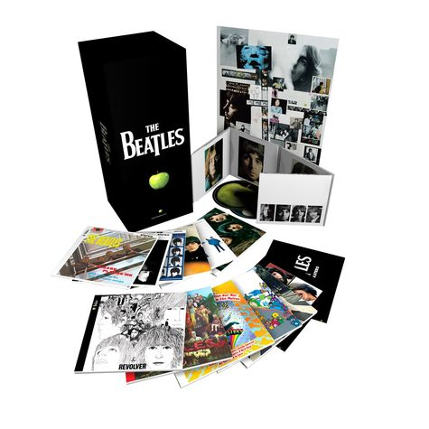 The Beatles: Stereo Boxed Set (16 CD + DVD)