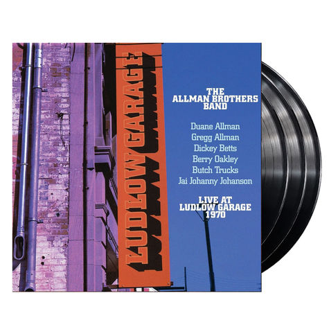 The Allman Brothers Band: Live at Ludlow Garage (3LP)