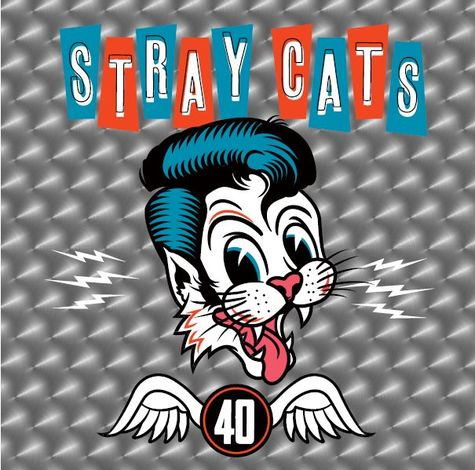Stray Cats: 40 (LP)