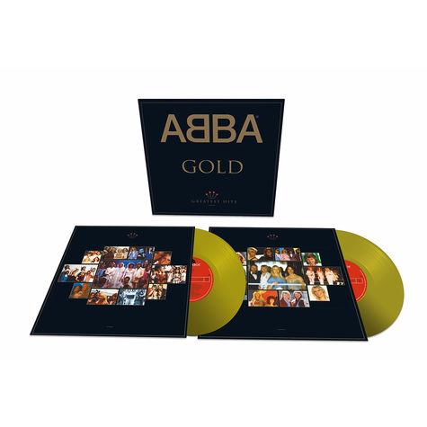 Abba: Gold: Greatest Hits (25th Anniversary) (2LP Gold Vinyl)