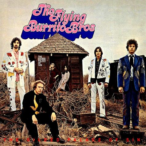 The Flying Burrito Brothers: The Gilded Palace Of Sin (Sky Blue)