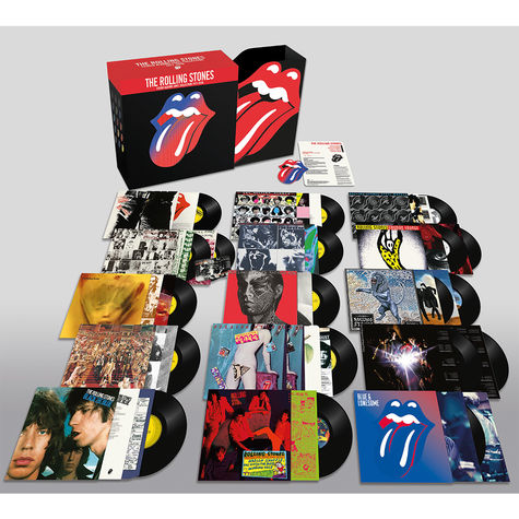 The Rolling Stones: Studio Albums Vinyl Collection (1971-2016)