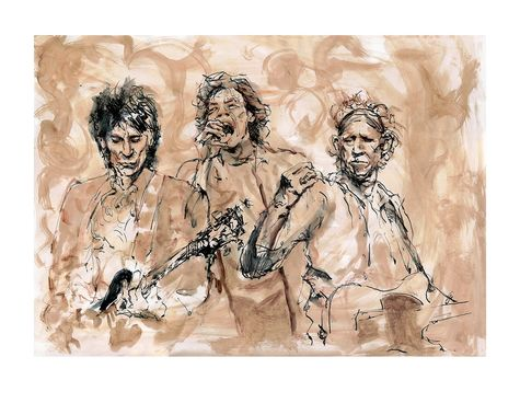 Ronnie Wood: Ronnie, Mick, Keith