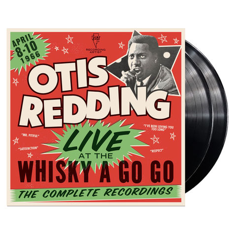 Otis Redding: Live At The Whiskey A Go Go (2LP)