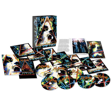 Def Leppard: Hysteria 30th Anniversary Edition (5CD + 2DVD)