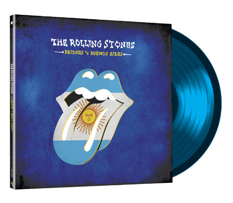 The Rolling Stones: Bridges to Buenos Aires Limited Edition (Blue 3LP)