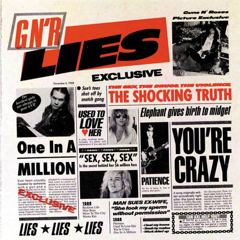 Guns N' Roses: GN'R Lies (CD)