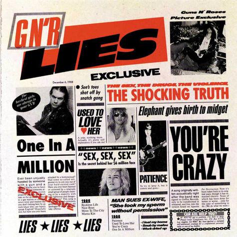 Guns N' Roses: GN'R Lies (CD)