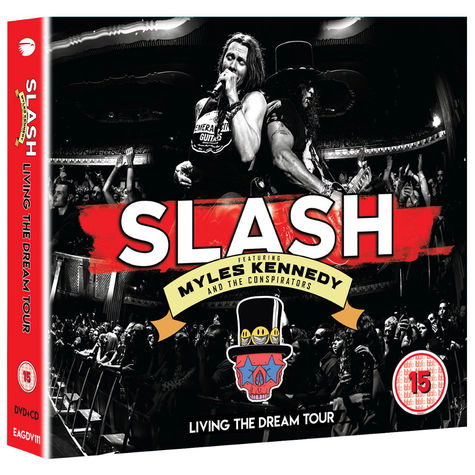Slash ft Myles Kennedy & The Conspirators: Living The Dream Tour (DVD/2CD)