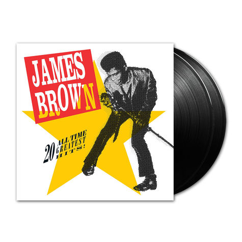 James Brown: 20 All Time Greatest (2LP)
