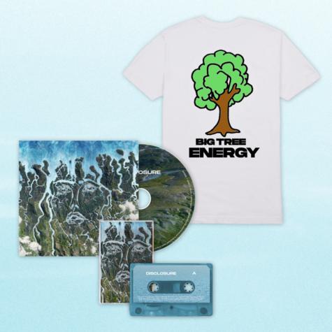 Disclosure: CD, Cassette + Big Tree Energy White Tee