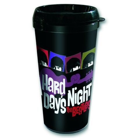 The Beatles: Hard Days Night Travel Mug