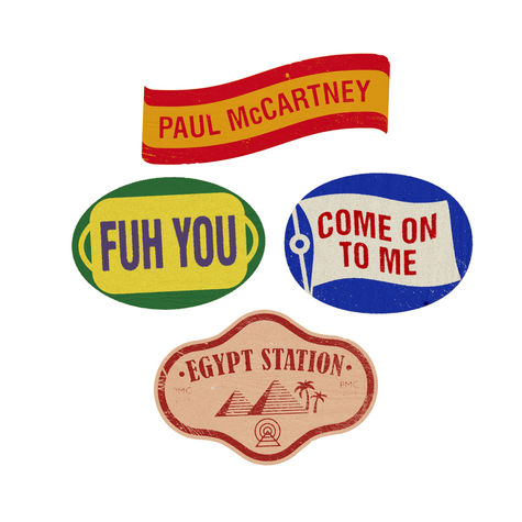 Paul McCartney: Egypt Station Pin Set