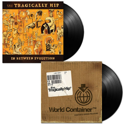 The Tragically Hip: In Between Evolution + World Container