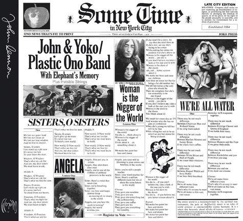 John Lennon: Some Time In New York City (Remastered)