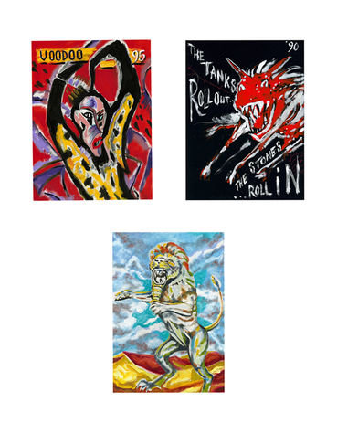 Ronnie Wood: TOUR POSTER COLLECTION