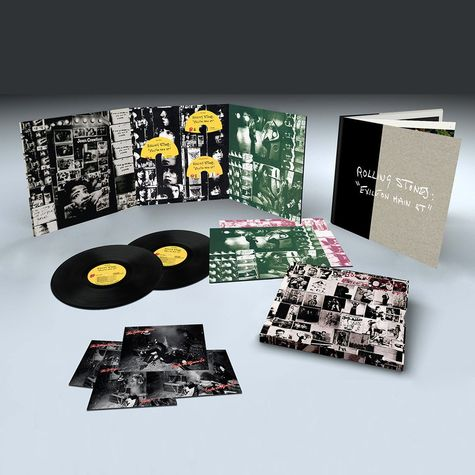 The Rolling Stones: Exile On Main Street (Super Deluxe Edition) (2CD + 2LP + DVD)