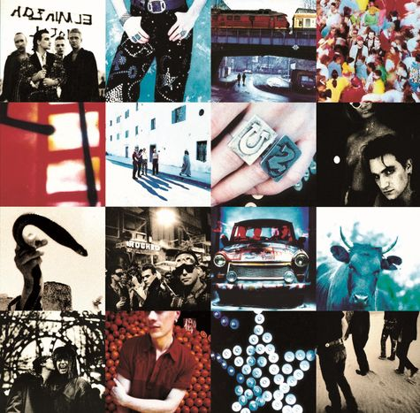 U2: Achtung Baby (Super Deluxe Edition) (6CD + 4DVD)