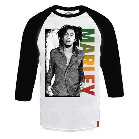 Bob Marley: Marley Gradient Raglan