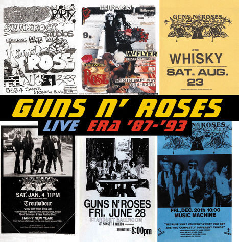 Guns N' Roses: Live Era 87-93 (2 CD)