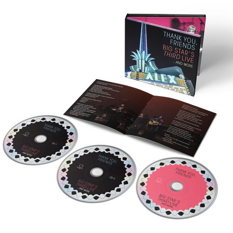 Big Star: Thank You, Friends: Big Star's Third Live..And More (2CD+BLU-RAY)
