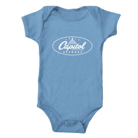 Capitol Records: Classic Logo Baby Onesie