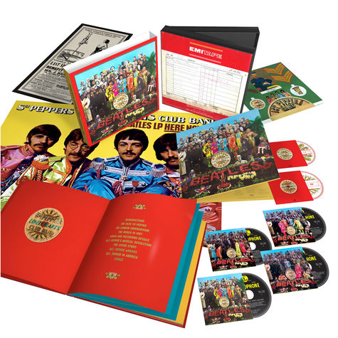 The Beatles: Sgt. Pepper's Lonely Hearts Club Band - Super Deluxe (6 CD)