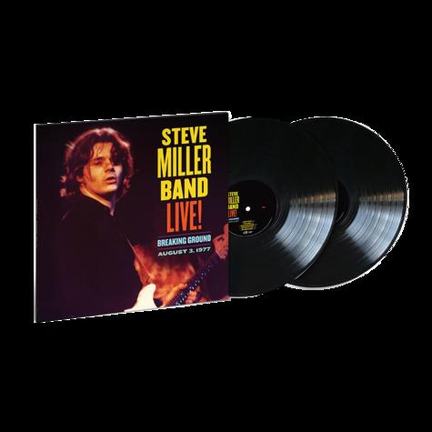 Steve Miller Band: Breaking Ground, August 3, 1977 (2LP)