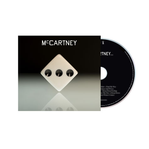 Paul McCartney: McCartney III - Deluxe Edition White CD