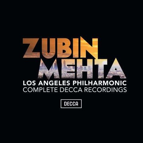 Various Artists: Zubin Mehta and the Los Angeles Philharmonic (38CD Box Set)