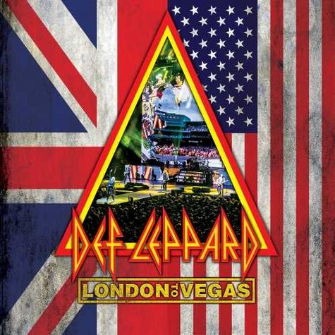 Def Leppard: London To Vegas Deluxe Limited Edition (2BD/4CD)