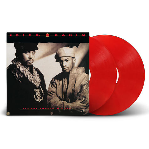 Eric B. & Rakim: Let The Rhythm Hit 'Em (2LP) (Red)