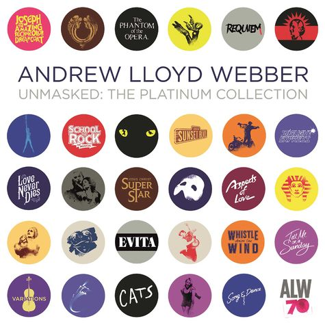 Andrew Lloyd Webber: Unmasked: The Platinum Collection
