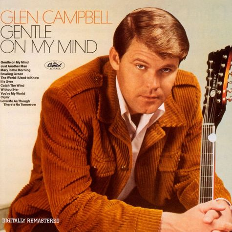 Glennn Campbell: Gentle On My Mind (Clear Green Vinyl)