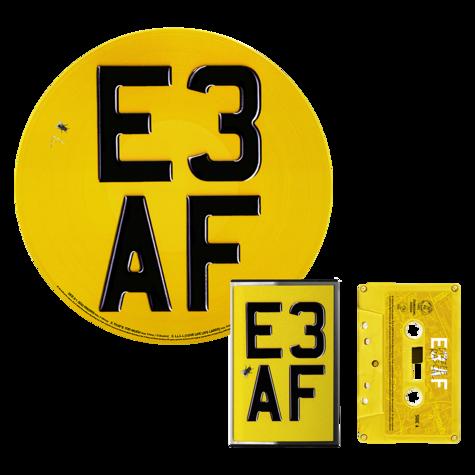 Dizzee Rascal: E3 AF: Cassette, Limited Edition Picture Disc + Signed Artcard