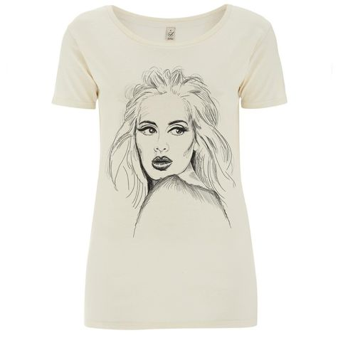 Adele: Sketch T-Shirt