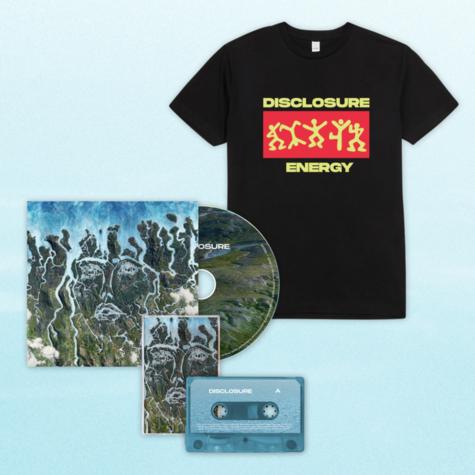 Disclosure: CD, Cassette + Energy Dancing Tee