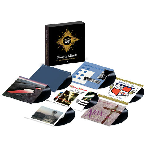 Simple Minds: Vinyl Collection (79,84) Boxset (&LP)