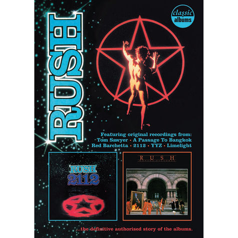 Rush: 2112 + Moving Pictures Special Edition (DVD + Bluray + 2CD)