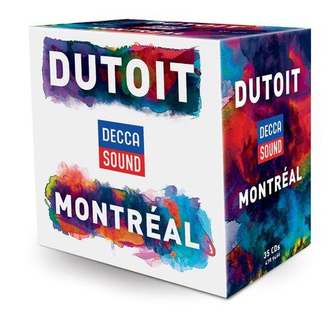 Charles Dutoit: Decca Sound: Dutoit Montreal (35 CD Set)