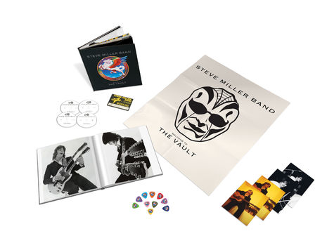 Steve Miller Band: Welcome To The Vault (3CD/DVD)