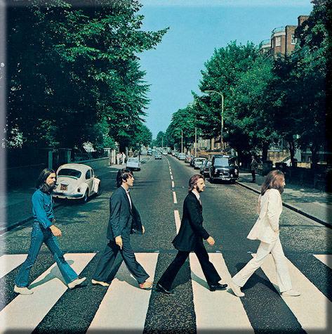 The Beatles: Abbey Road Fridge Magnet